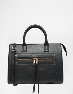 ASOS – Tragetasche mit Reißverschlusstasche