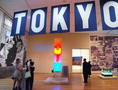 """Tokyo 1955-1976: A new avant-garde,"" held at the Museum of Modern Art in New York. The exhibition features Kenzo Tange's giant vision of Tokyo's future and the work of avant-garde group Hi Red Center (Wakato Onishi)"