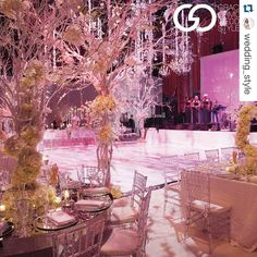 Featured in Grace Ormonde Wedding Style Magazine! Tree Wedding, Wedding Art, Luxury Wedding, Wedding Ideas, Hollywood Glamour Party, Wedding Designs, Wedding Styles, Fuschia Wedding, Winter White