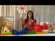 How to Make Fake Candy Pieces for a Candyland Party : Children's Party Events
