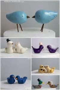 nice  Lovely Wedding Cake Toppers Birds Ideas