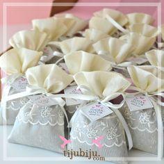 Lavanta keseleri. Lavander bags as wedding favors by tijubiju