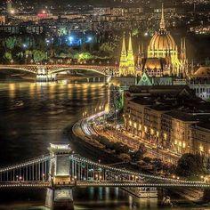 Budapest, Budapest, te csodás...(Hungary) Esti fénypompában. Fotó: Vándorffy Hunor