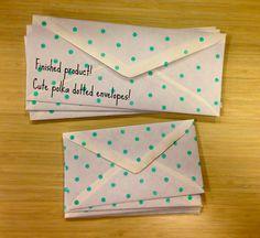 Stamped Envelopes | The DIY Dorm