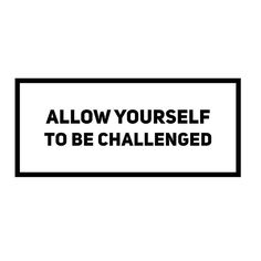 When you allow yourself to be challenged...in your fitness regimen, your productivity at work, in your relationships; you set yourself up for growth.  If you're stuck, look for a challenge, ask for feedback, welcome growth. #tips #tiptuesday #growth #chal