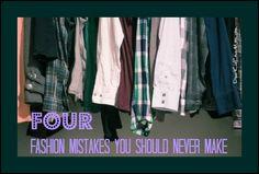 Four fashion mistakes you should never make. (And how to fix them) DearKidLoveMom.com