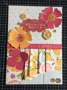CTMH Happy Times Mothers Day card