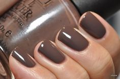 My favorite fall color!!!! OPI You Don't Know Jaques...fall color