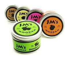 JM's Amerikaanse Hookah (Hookah = Waterpijp in het engels) tabak. Verkrijgbaar in veel verschillende fruitsmaken!
