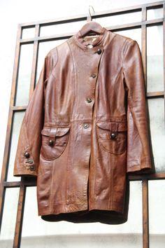 Oakwood hand painted leather jacket