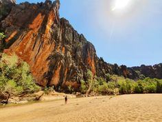 Walking through Windjana Gorge is like a step back in time. You feel like your in the land of the dinosaurs with the height and colour of… Back In Time, Australia Travel, Dinosaurs, Playground, In The Heights, Exploring, How Are You Feeling, Walking, Colour