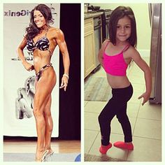 Being a Role Model On and Off the Stage!! #fitmom www.danitzadenn.com