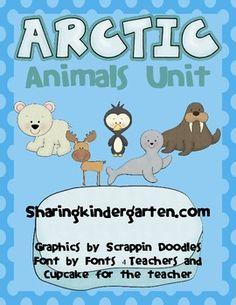 Arctic Animal Unit... completely revised on 11/22/2012! FREEBIE here too