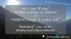 Wat is jouw dip-knop? Lees verder op de website van www.demamascoach.nl/blog