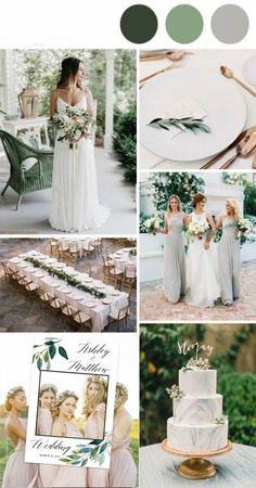 Greenery wedding palette Minimalist wedding Marble wedding Green wedding Colorless wedding Green and grey wedding Calligraphy invitations Simple wedding Elegant wedding Classic timeless weddi - Wedding Photo Props, Wedding Themes, Wedding Photos, March Wedding Colors, Gray Wedding Colors, Grey Wedding Theme, Decor Wedding, Sage Green Wedding, Ivory Wedding