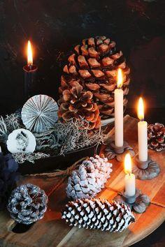 Szyszki: naturalne ozdoby świąteczne