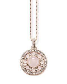 Halskette Glam & Soul rosévergoldet THOMAS SABO