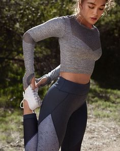 Sport outfit for women athletic wear 28 Ideas Look Fashion, Fashion Clothes, Fashion Models, Fashion Outfits, Feminine Fashion, Ladies Fashion, Womens Fashion, Fashion Tips, Athletic Outfits
