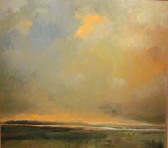 Remembered Landscape 26 • VI • 10 / oil on linen, 2010 / Thomas Sgouros 1927-2012