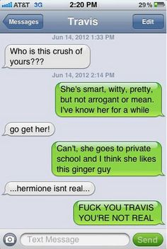 "The Web Babbler: Funny Texts #20 It took me a few seconds... But at the end, definitely gets a ""haha""."
