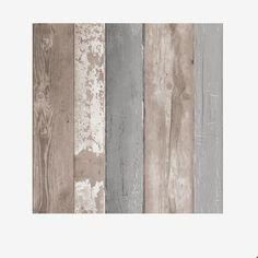 vtwonen Vliesbehang 10 m x 52 cm - Natural Wood - afbeelding 1