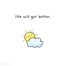 Hopefully this cheers you up if you're feeling a little down. ^u^ Positive thinking~