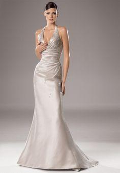 Elegant Silver Wedding Dresses