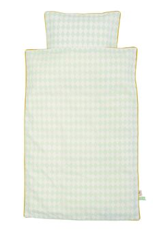 ferm LIVING - KIDS - 8047 Harlequin Bedding Mint - Baby