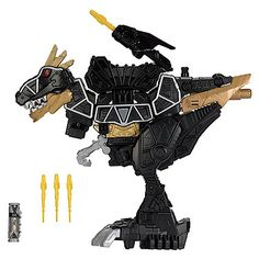Power Rangers Dino Super Charge Deluxe Black T-Rex Zord Action Figure Jurassic World Indominus Rex, The Wolf Among Us, Disney Cups, Go Go Power Rangers, Pokemon Birthday, Hunting Rifles, Ben 10, T Rex, Boy Room