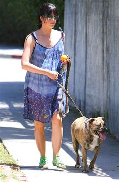Selma BlairEven while pregnant, Selma Blair kept up her love of all kinds of animals. She was frequently spotted hanging out with her horse, volunteered at Lange Foundation in L.A., and even brought home a new furry friend to add to her growing family.  http://www.wonderwall.com/movies/celebs-who-adopt-pets-16303.gallery#!wallState=0__%2Fmovies%2Fcelebs-who-adopt-pets-16303.gallery%3FphotoId%3D56717