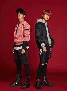 Jr & Yugyeom (GOT7) - NBA (F/W '16)