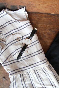 Simple Summer Wear - Linen Frocks + Minimal Accessories