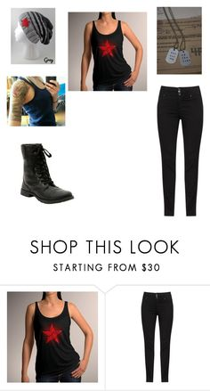 """""""Wintersoldier fan"""" by sophia-prince ❤ liked on Polyvore featuring Hot Topic"""