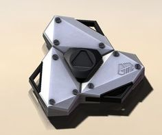 EVA Variant Fidget Spinner EDC Hand Finger Spinner Titanium Alloy Bearing   #GeeZ