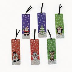 Holiday Bookmark with Activities 12ct