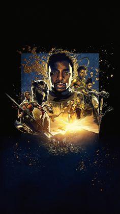 Black Panther (2018) Phone Wallpaper | Moviemania