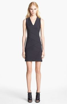 Theory 'Dillas' Stretch Body-Con Dress available at #Nordstrom