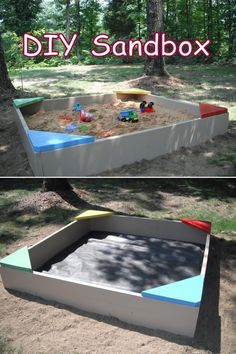 Backyard Sandbox Ideas completed build pictures of the adventure sand box check back often this page will sandbox ideassandbox diybackyard Top 10 Creative And Fun Outdoor Diy Kids Projects Campinglivezcampinglivez