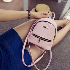 Cheap leather backpack, Buy Quality mini backpack directly from China backpacks for children Suppliers: TTOU Women Mini Backpack Cute Backpack for Children Teenagers School Bags Mochila Preppy Style Pu Leather Backpack for Girls Leather Backpacks For Girls, Cute Mini Backpacks, Girl Backpacks, Casual Backpacks, School Backpacks, Women's Mini Backpack, Small Backpack, Backpack 2017, Backpack Purse