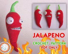 Crochet patrones de Melon-pult y melón de invierno de por Aradiya