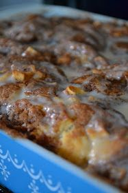 The Domestic Doozie: Apple Fritter Cake