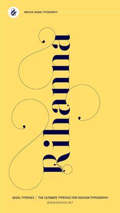 Fashion Logo Design, Logo Design Trends, Fashion Typography, Alphabet Design, Personal Logo, Minimal Logo, Design Projects, Branding, Graphic Design