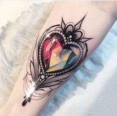 Tattoo Bird Chest Sweets Ideas For 2019 Mirror Tattoos, Body Art Tattoos, Hand Tattoos, Tatoos, Sweet Tattoos, Pretty Tattoos, Beautiful Tattoos, Juwel Tattoo, Piercing Tattoo