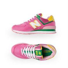 New Balance Women's 574 Passport Pack - Pink | Platypus Shoes