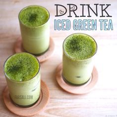 If your complexion is red or blotchy, this tea's anti-inflammatory properties can be soothing. Iced is best because hot beverages can worsen redness and other symptoms of rosacea.  Another benefit: The epigallocatechin gallate (EGCG) in green tea may help prevent the collagen destruction that leads to wrinkles as well as sun-induced DNA damage in the skin. Consider subbing tea for your morning mug of coffee.