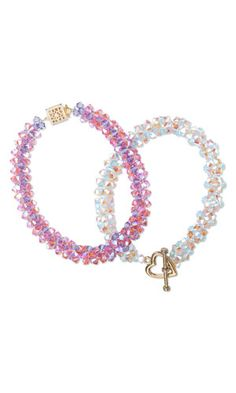 Bracelet with SWAROVSKI ELEMENTS - Fire Mountain Gems and Beads