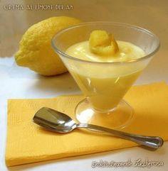 Crema al limone Dukan ricetta light dieta | Dolcissimamente Zuccherosa