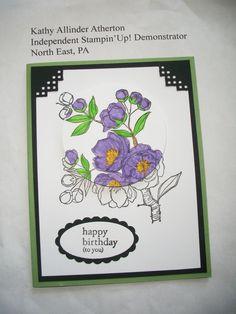 Kathy's April 2015 Stamp Camp - Card #2