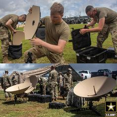 U.S. Army Soldiers set up scalable network nodes on Andersen Air Force Base, Guam, providing vital communication and network operations support. Patriotic Poems, Air Force Bases, Army Soldier, Guam, Communication, United States, America, Soldiers, Music
