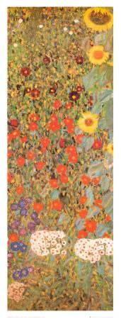 II Giardino di Campagna (by Gustav Klimt)